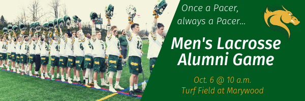 Marywood Men's Lacrosse Alumni Game - October 6, 10 a.m. at the Turf Field at Marywood